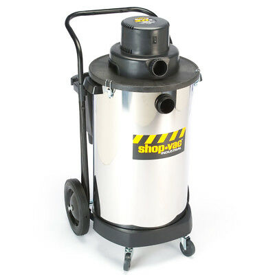 Shop-Vac 9700410 20-Gallon 3-HP 2-Stage Industrial Stainless Steel Wet Dry Vac