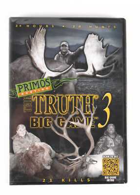 *Primos Truth 3 PS49051 Big Game Instructional DVD