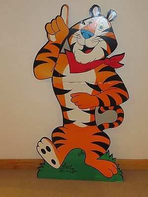 VINTAGE CEREAL Store Display TONY THE TIGER  Kellogg's Frosted Flakes 1992 43""