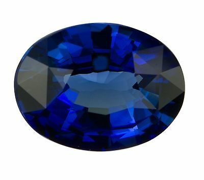 Natural Dark Blue Sapphire Oval Cut 6mm x 4mm Gem Gemstone