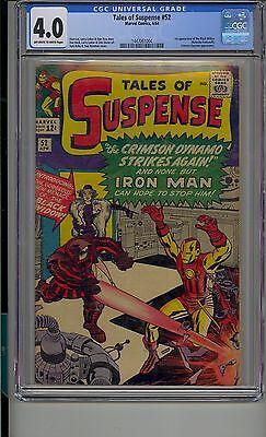 Tales Of Suspense #52 Cgc 4.0 First Appearance Of Black Widow Marvel