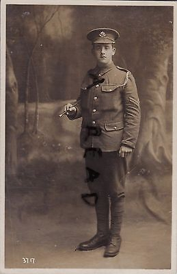 WW1 soldier Corporal Cheshire Regiment