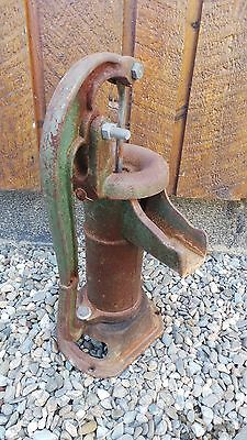 Vintage Cast Iron Hand WATER PUMP in Nice Condition