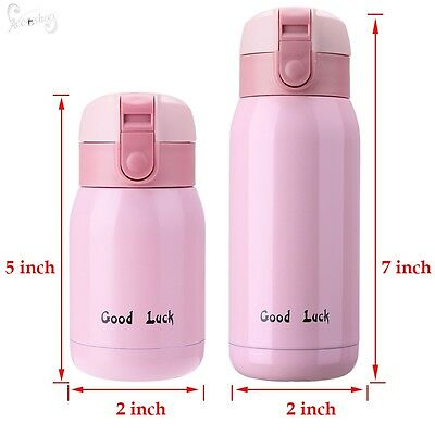 Stainless Steel Insulated Home Travel Drink Bottle Vacuum Flasks Thermos Cup Mug