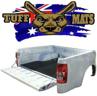 Tuff Mat Rubber Ribbed Ute Tray Mat Holden Colorado Dual Cab With NO Tub Liner