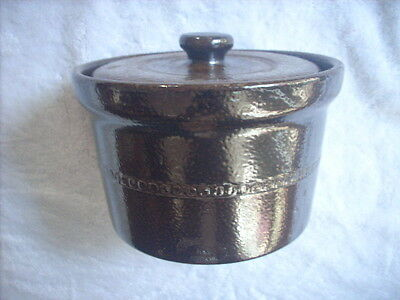 Bendigo Pottery  K.c. Australia Margarine Container And Another Available
