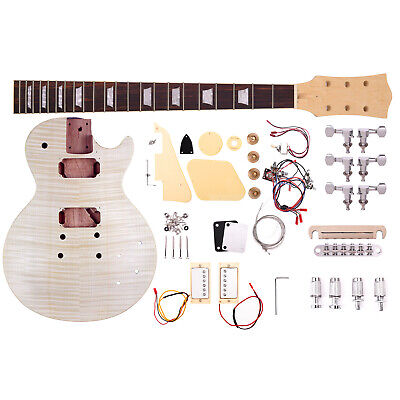Artist LPFDIY Classic Flame Do it Yourself Guitar Kit - New
