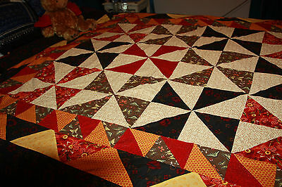 patchwork Quilt cover queen size cover or double bed Doona cover handmade quilt