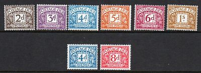 D69-76 Postage Due Sets UNMOUNTED MINT(418/425/509)