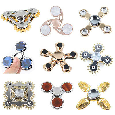 Fidget Spinner Focus Hand Spinner EDC Stress Reliever Toy Gift with Box 9 Styles