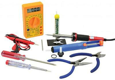 Mercury 749.300 Electrical Tool Set Multimeter Solding Iron Screwdrivers Pliers
