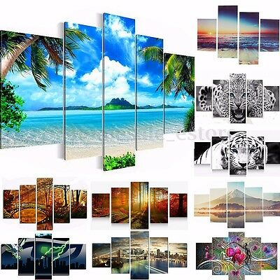 Modern Art Painting Print Canvas Animal View Nature Picture Home Decor Unframed