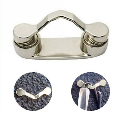 Unisex Strong Magnetic Eye Glasses Spectacle Sunglasses Holder Clip Brooch New