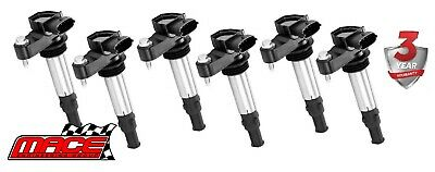 6 X IGNITION COILS HOLDEN COMMODORE VZ ALLOYTEC LY7 LE0 3.6L V6 (Till 07/06)