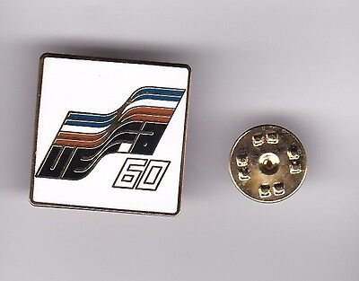 """France """" Uefa 60 """" - lapel badge butterfly fitting"""