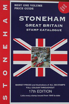 Stoneham catalogue of British Stamps NEW EDITION 2017