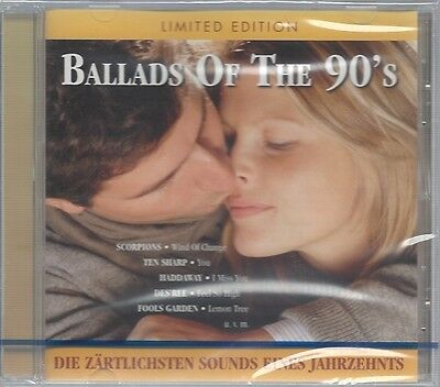 Cd--Nm-Sealed-Various -2004- -- Ballads Of The 90's