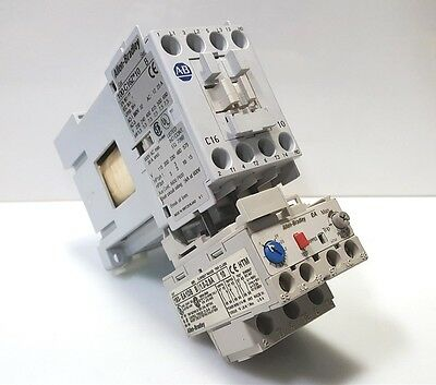 AB 100-C16Z*10 Contactor/Starter Coil: 24VDC Contact: 690V@32A w/Overload 1-2.9A