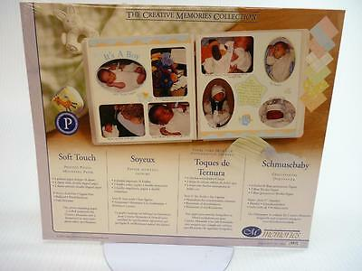 Creative Memories Soft Touch Baby Paper Pack 10 X 12 NEW in Pkg (cm)