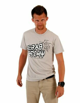 Guardians of The Galaxy Star Lord Design Adult Silver T-shirt