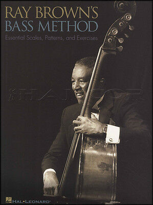 Ray Brown's Method for Double Bass Learn How to Play Tutor Sheet Music Book
