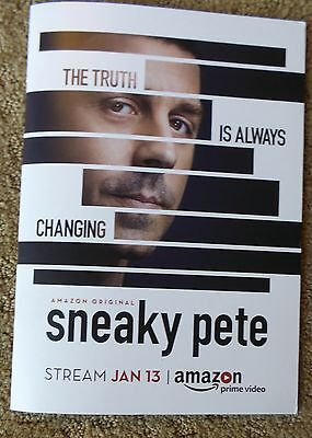 Sneaky Pete Amazon 2017 Press Kit 4 Episode Dvd Giovanni Ribisi Bryan Cranston
