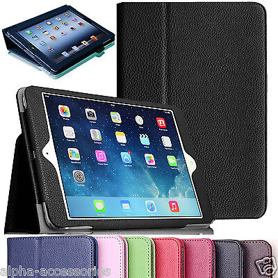 Apple iPad 9.7 Premium PU Leather Case Magnetic Smart Stand Cover For 2017, 2018