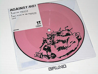 """7"""" Picture: Against Me! - Stabitha Christie, Limited, RSD 2017, NEU & OVP"""