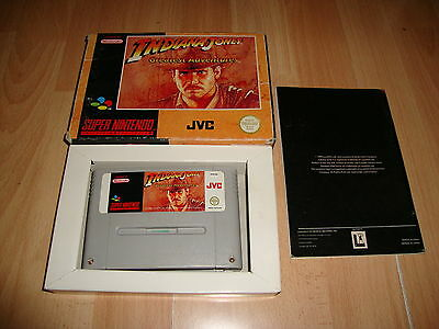 Indiana Jones Greatest Adventures Para Snes Super Nintendo Snsp-Aup-Eur Completo