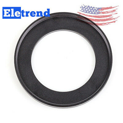 2pcs 37-49mm Step-Up Metal Filter Adapter Ring 37mm Lens to 49mm Accessory 37-49