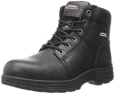 Skechers for Work Men s Workshire Boot Black 10.5 W US