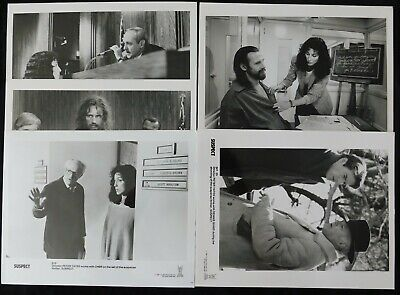 Cher & Liam Neeson Suspect Unsigned Glossy 8x10 Movie Promo Photo (C)