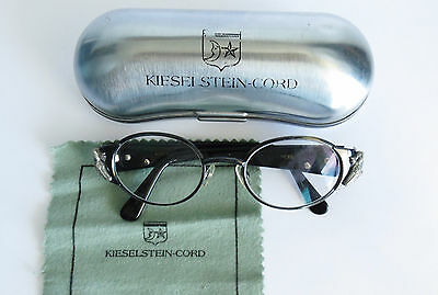 Barry Kieselstein Cord Titanium Eye Glasses With Silver Alligator Org Box