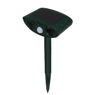 Water Proof Ultrasonic Animal Repeller for Outdoor Pest Bird Mouse Animal