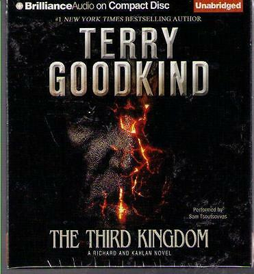 NEW !! The Third Kingdom Sword of Truth by Terry Goodkind CD Unabridged !!