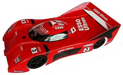 1:10 RC Clear Lexan Body Toyota GT1 200mm Nitro or Electric Colt suit Tamiya