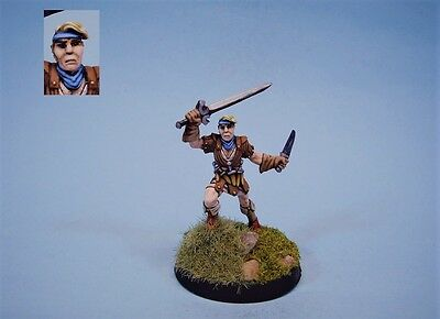 Ral Partha painted miniature Ranger