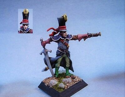 Confrontation painted miniature Cadwallan Noble