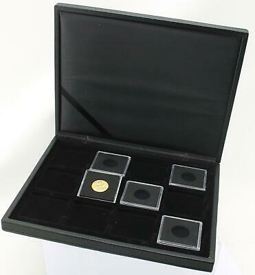 Deluxe Lighthouse Presidio Quadrum case for displaying 12 x 22mm full sovereigns