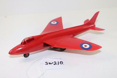 Triang Minic Push & Go Red Fighter Jet Plane FNQHobbys SW210