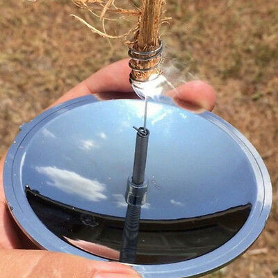 Camping Solar Ignition Lighter Fire Starter Emergency Outdoor Survival Tool 1X