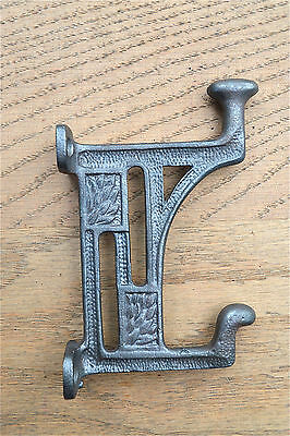 Arts and Crafts Mackintosh Glasgow coathook cast iron coat hook door hanger