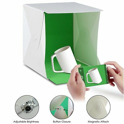 Light Room Photo Studio Photography Lighting Tent Kit Backdrop Cube Mini Box US