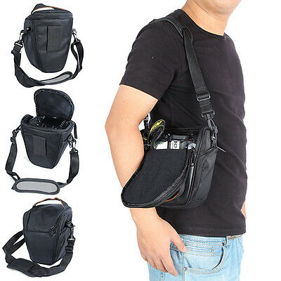 Waterproof Camera Case Shoulder Bag For Canon Sony Ni kon  Cover Protective US