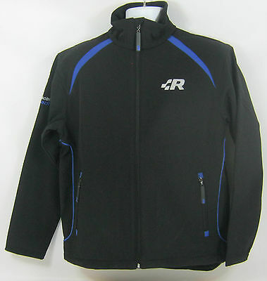 Mens Volkswagen R Racing Collection Black Blue Softshell Jacket - New Genuine Vw