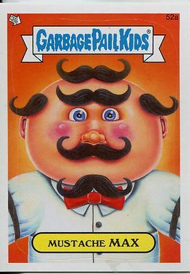 Garbage Pails Kids 2014 Series 1 Base Card 52a MUSTACHE MAX