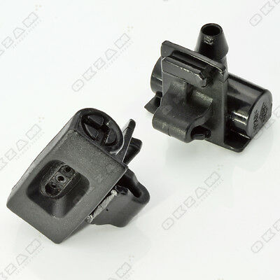 2x FRONT WINDSCREEN WASHER JET NOZZLE FOR RENAULT CLIO IV *NEW*