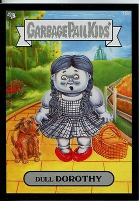 Garbage Pails Kids 2014 Series 1 Black Parallel Base Card 18a DULL DOROTHY