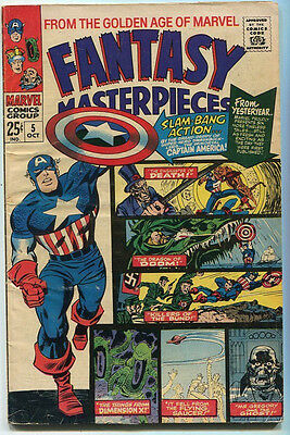 Fantasy Masterpieces #5 VG+ From The Golden Age Of Marvel   Marvel SA