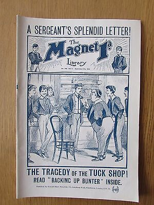 The Magnet No 396 Facsimile copy featuring Billy Bunter (September 1915)